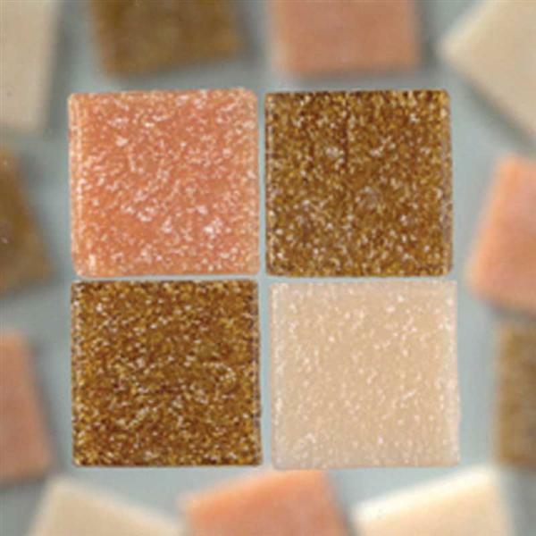 Mozaïek glasstenen - 200 g, natuurmix