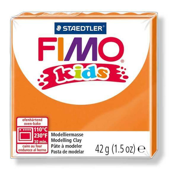 Fimo kids - 42 g, oranje