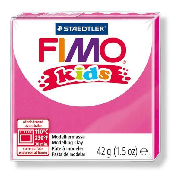 Fimo kids - 42 g, zuurstokroze