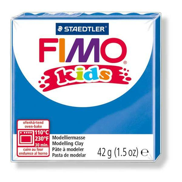 Fimo Kids - 42 g, bleu