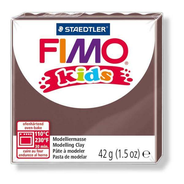 Fimo Kids - 42 g, brun