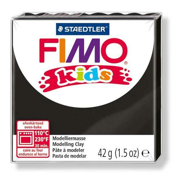 Fimo Kids - 42 g, noir