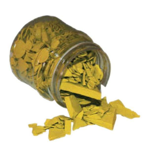 Colorant pour cire- 20 g, jaune citron