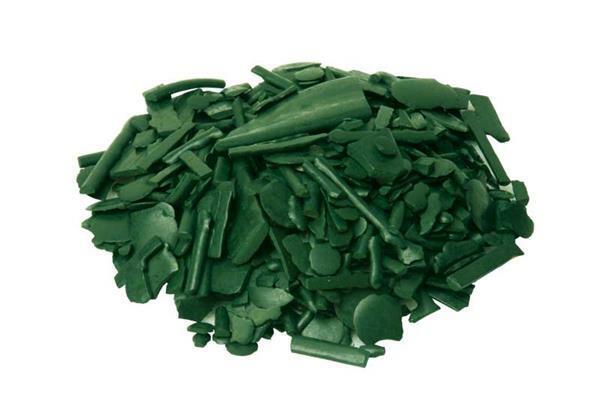 Wasverfpigmenten - 20 g, donkergroen