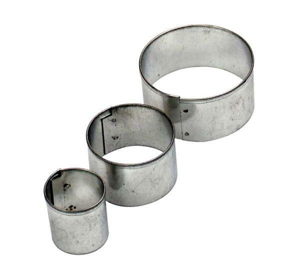 Emporte-pièces - 3 pces, rond