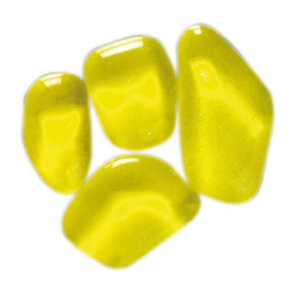 Mosaik Glassteine Soft - 200 g, gelb