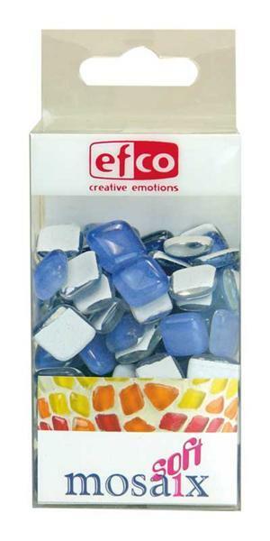 Mosaïque verre Soft - 200 g, bleu clair