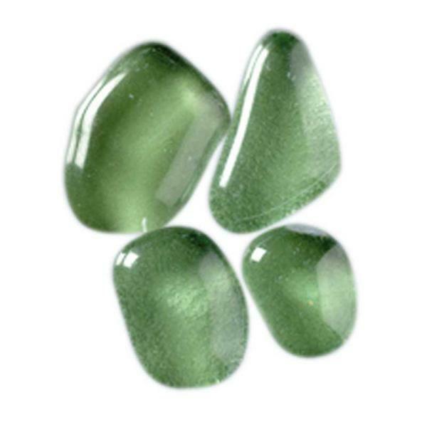 Mozaïek glasstenen soft - 200 g, groen