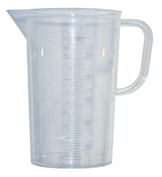 Maatbeker transparant, 1000 ml