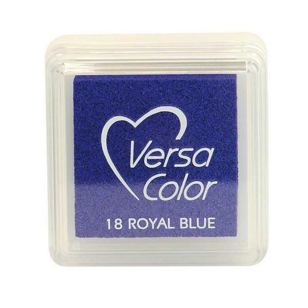 Tampon encreur, bleu roy