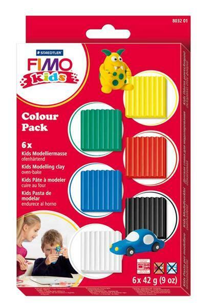Fimo kids - materiaalpakket, 252 g