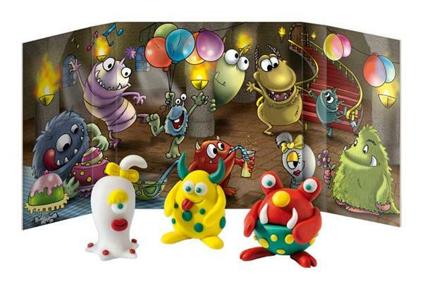 Fimo kids - form&play, Monster