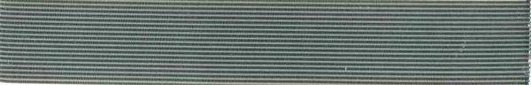 Sierwasstroken plat - 2 mm, zilver