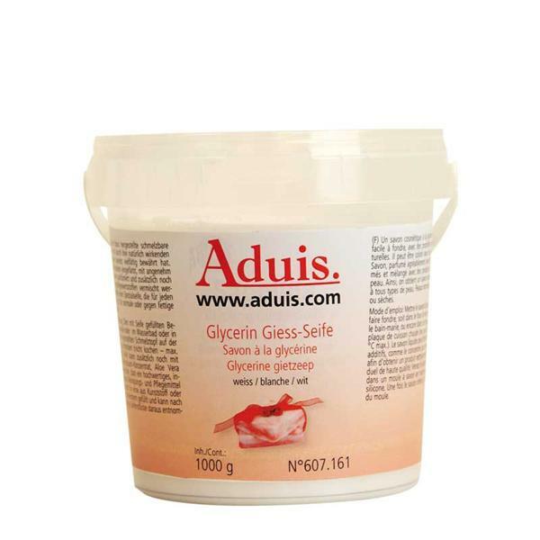 Savon à la glycérine  Aduis - blanc, 1000 g