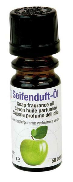 Huile parfumée pour savon - 10 ml, pomme verte