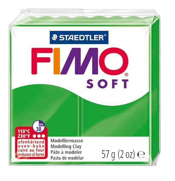 Fimo Soft - 57 g, vert tropical