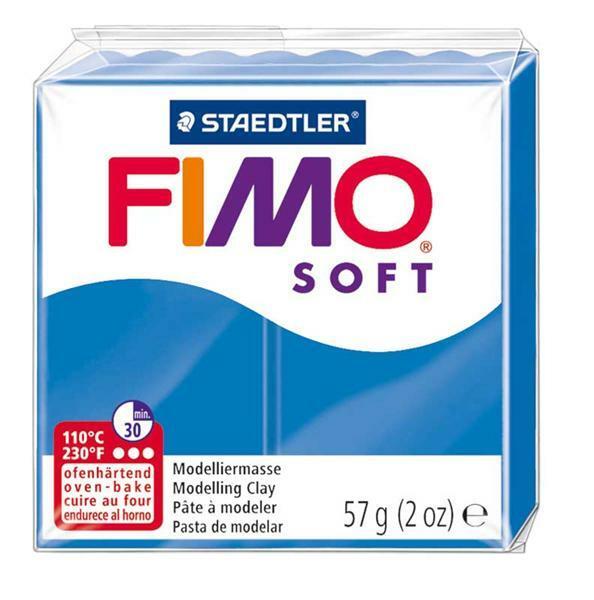 Fimo Soft - 57 g, bleu pacifique