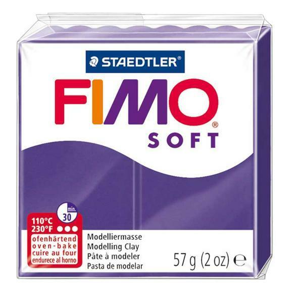 Fimo Soft - 57 g, pruimen
