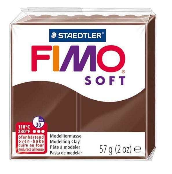 Fimo Soft - 57 g, schokobraun