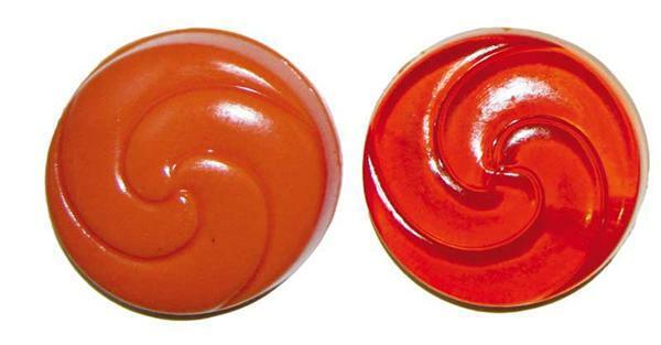 Zeepverf - 10 ml, oranje