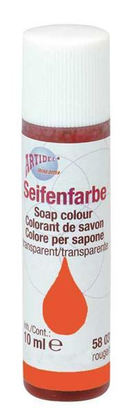 Colorant pour savon - 10 ml, orange