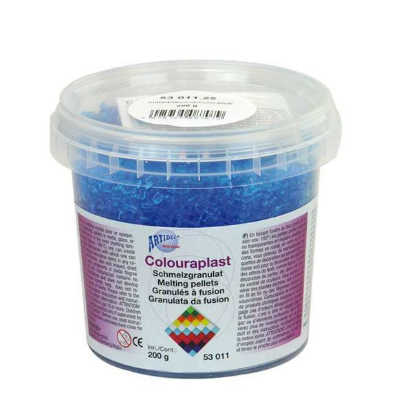 Colouraplast - 200 g, bleu moyen