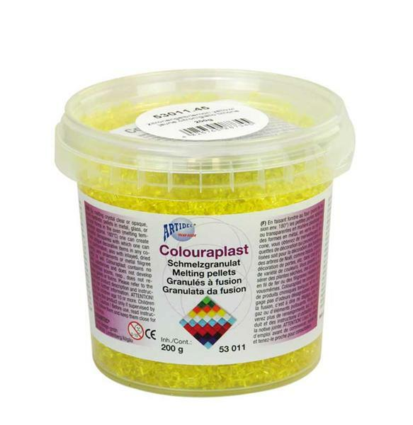 Colouraplast - 200 g, citroengeel