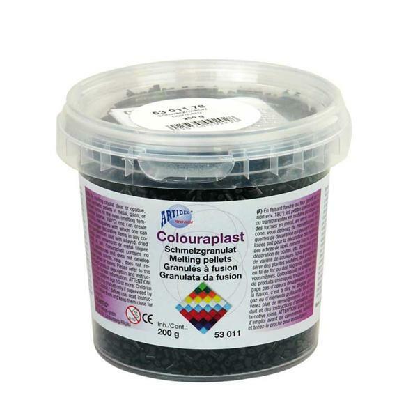 Colouraplast - 200 g, schwarz