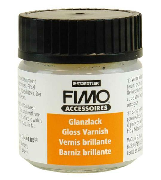Fimo glanslak, op waterbasis