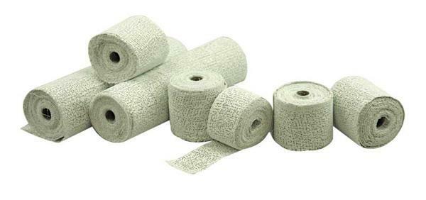 Bandes de plâtre - 1 kg, env. 1,8 m²