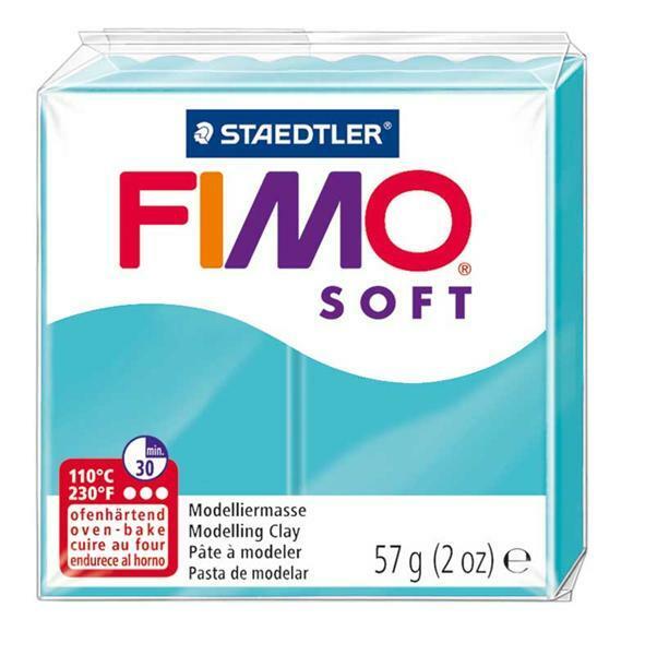 Fimo Soft - 57 g, pepermunt