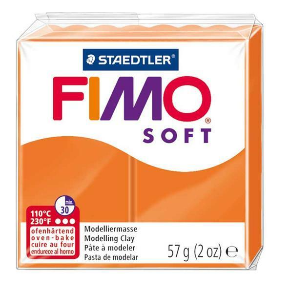 Fimo Soft - 57 g, mandarijn