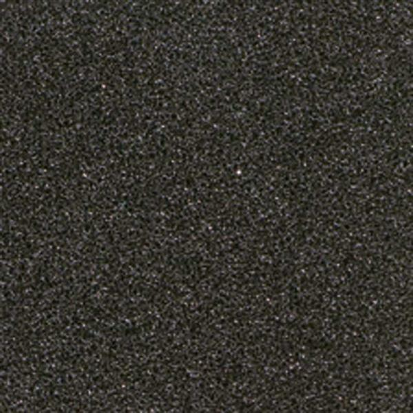 Stempelkussen, zwart