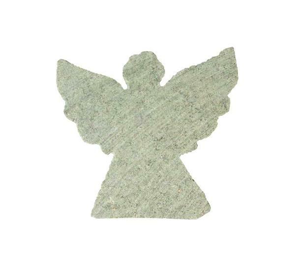 Speksteen grof voorbewerkt, engel