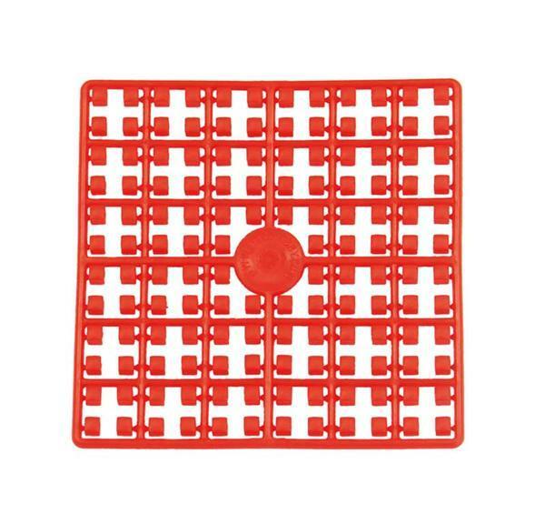 Mosaïque Pixel, rouge