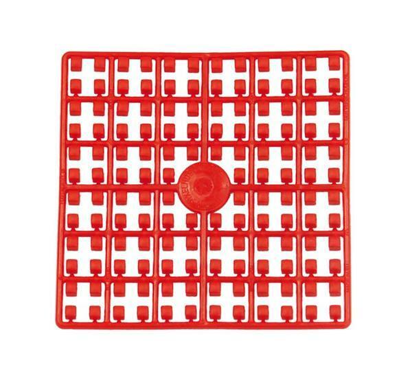 Mosaïque Pixel, rouge foncé