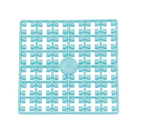 Mosaïque Pixel, bleu clair