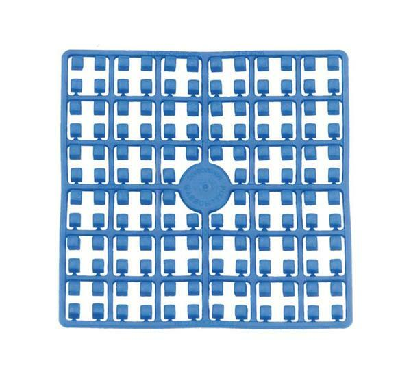 Pixel - Steine, blau