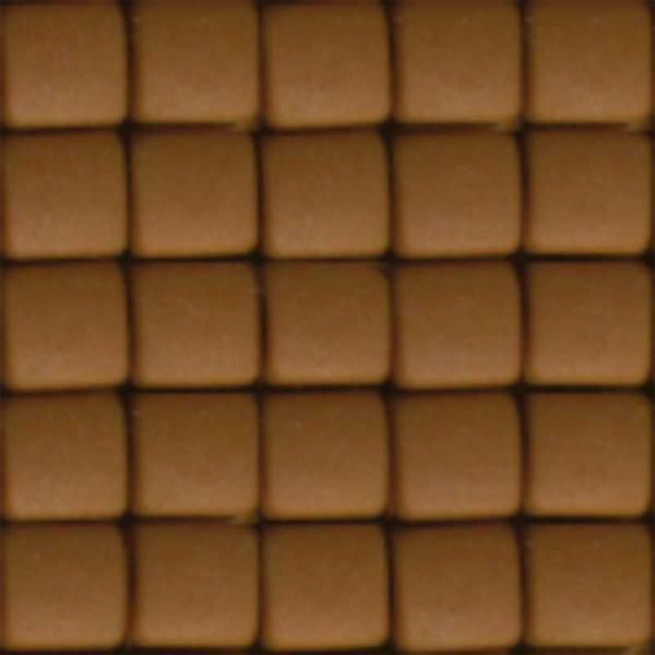Mosaïque Pixel, brun