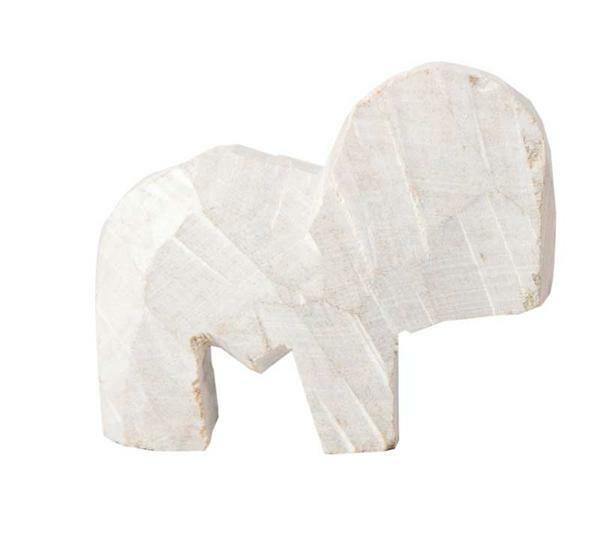 Speckstein Elefant mit Rüssel nach oben