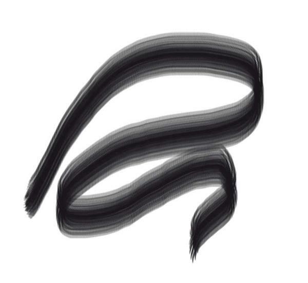 Porzellanmalstift, schwarz