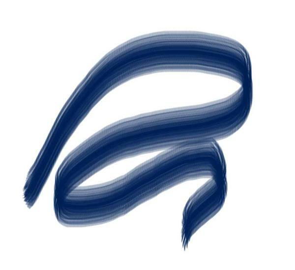 Porzellanmalstift, nachtblau