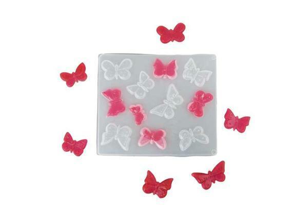 Gießform Schmetterlinge