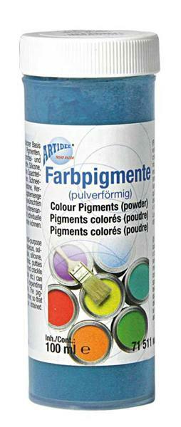 Pigment coloré en poudre - 100 ml, rouge moyen