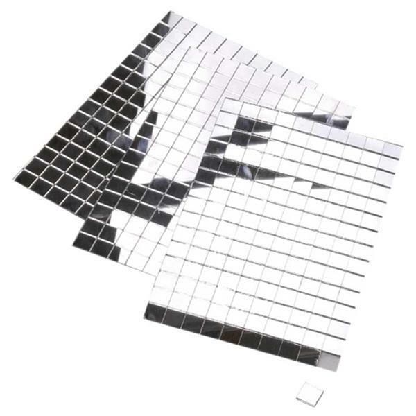 Spiegelsteine - selbstklebend, 10 x 10 mm