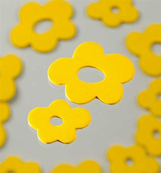 Streuteile - Blüten, gelb