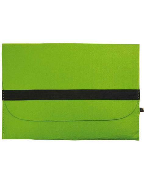 Filzhülle - 33 x 23 cm, Stärke 2 mm, hellgrün