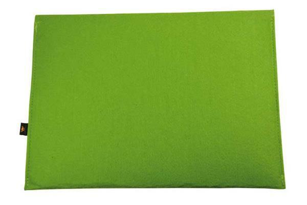 Pochette en feutrine - 33 x 23 cm, vert clair