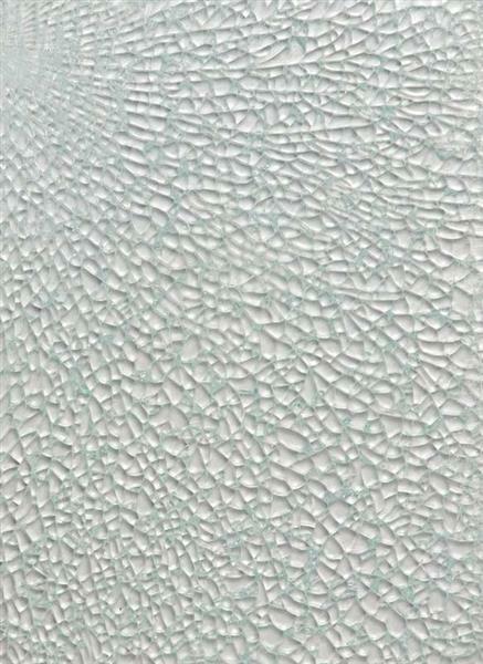 Crackle Mosaik Platte - 15 x 20 cm, klar