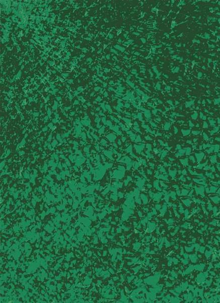 Crackle Mosaik Platte - 15 x 20 cm, dunkelgrün